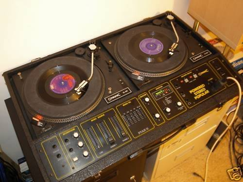 The olds days of DJing